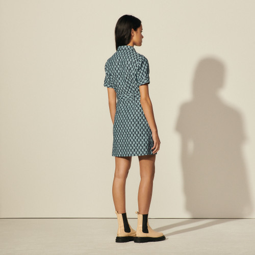 Sandro Sabine tweed dress