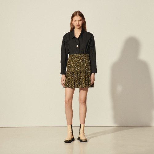 Sandro mini skirt