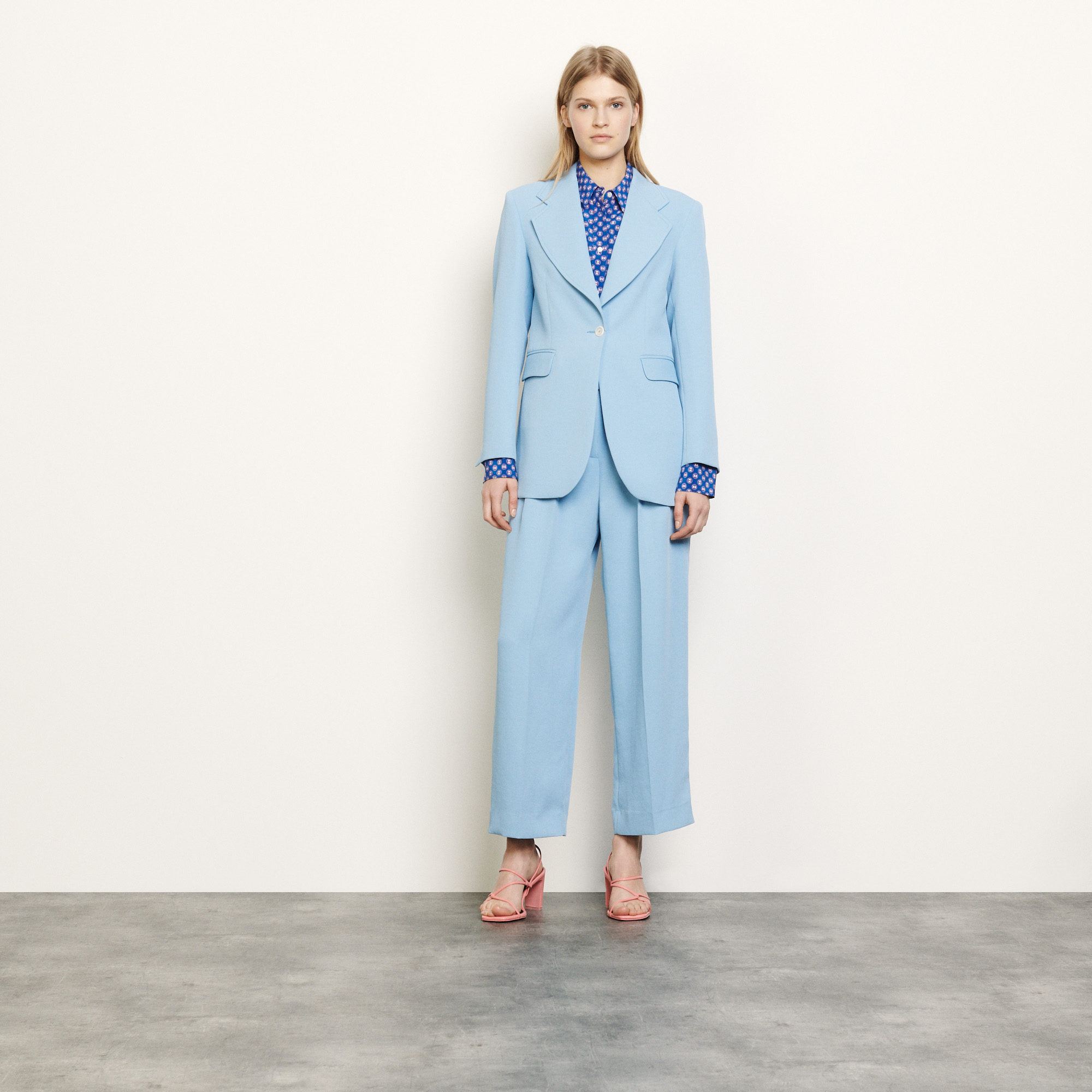 Tailored jacket - Blue