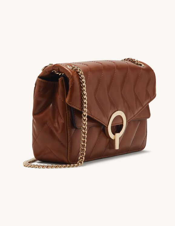 Yza quilted bag - Brown