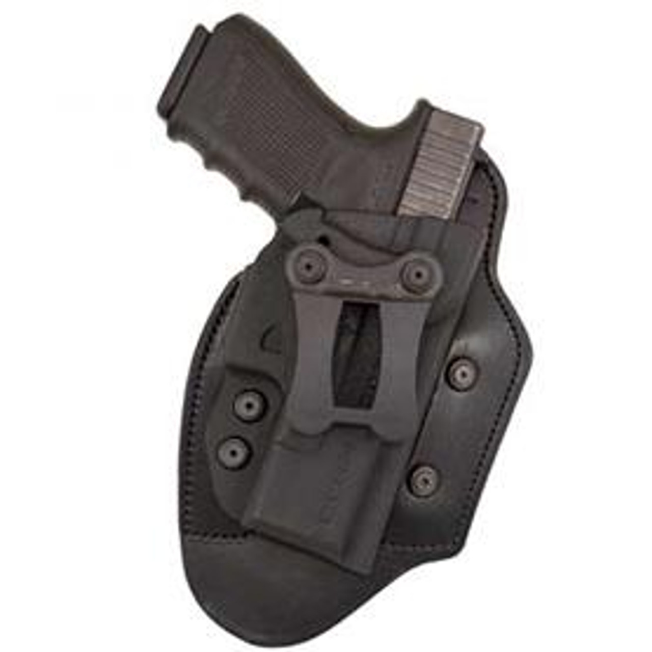 IWB//OWB Kydex//Leather Hybrid Holster with adjustable retention for H/&K