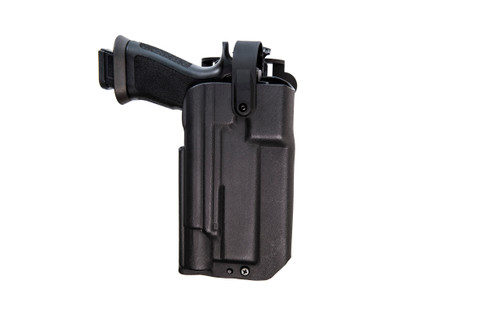 Blue Duty Holster Series™ Covered Optic | Level 2 | Spring Loaded Bale | Optics and Light Compatible