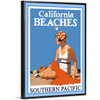 California Beaches by Southern Pacific