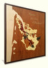 Bordeaux Wine Regions Marquetry Wood Inlay