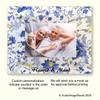 "Personalized photo-frame ""CHINA BLUE"""