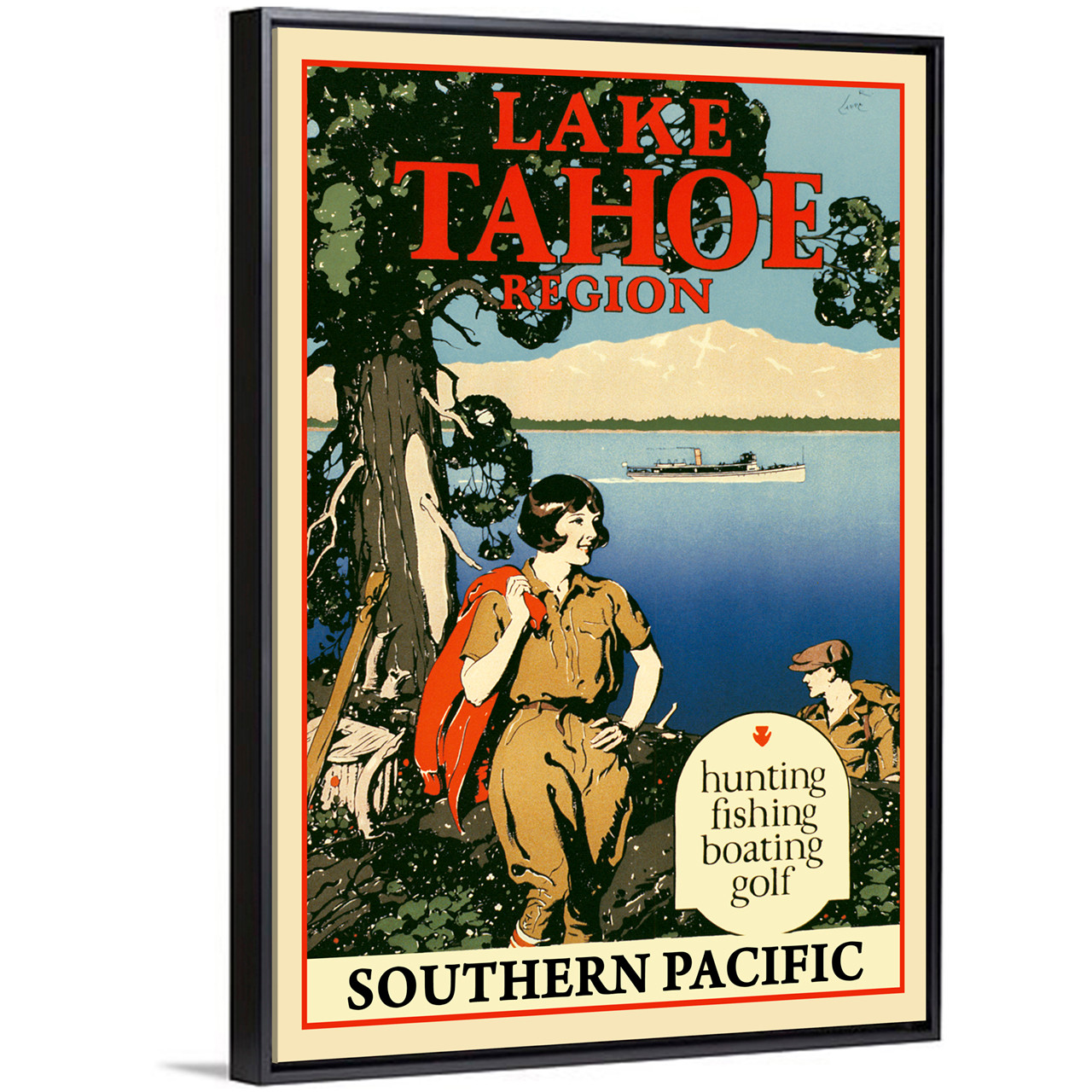 Lake Tahoe by Southern Pacific
