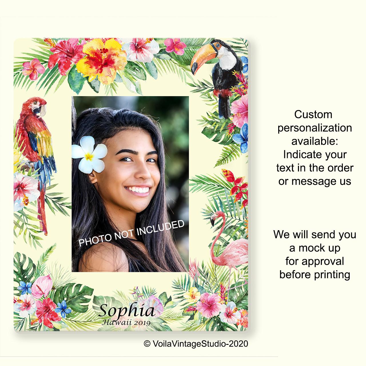 "personalized photo-frame ""Hawaii"""