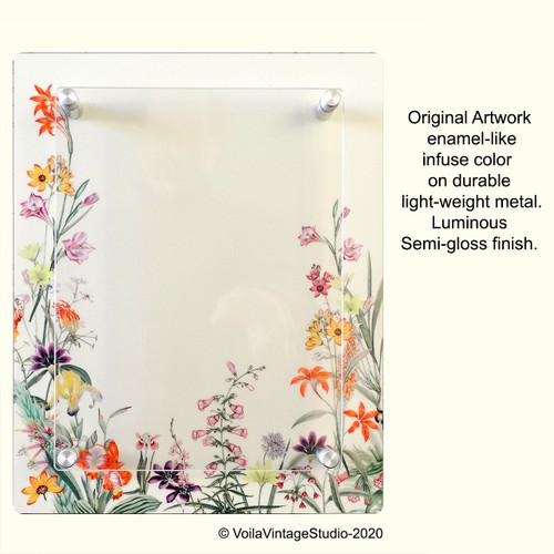 """Personalized photo-frame """"FLEURS DES CHAMPS"""""""