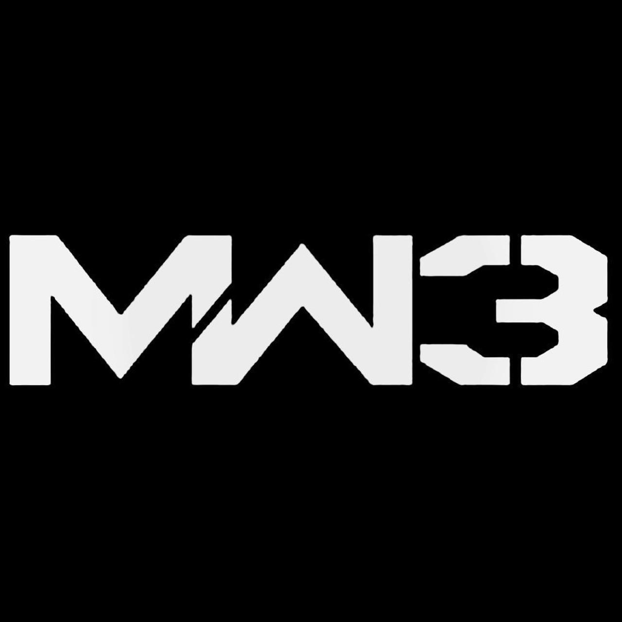 Call Of Duty Modern Warfare 3 Logo Decal Sticker