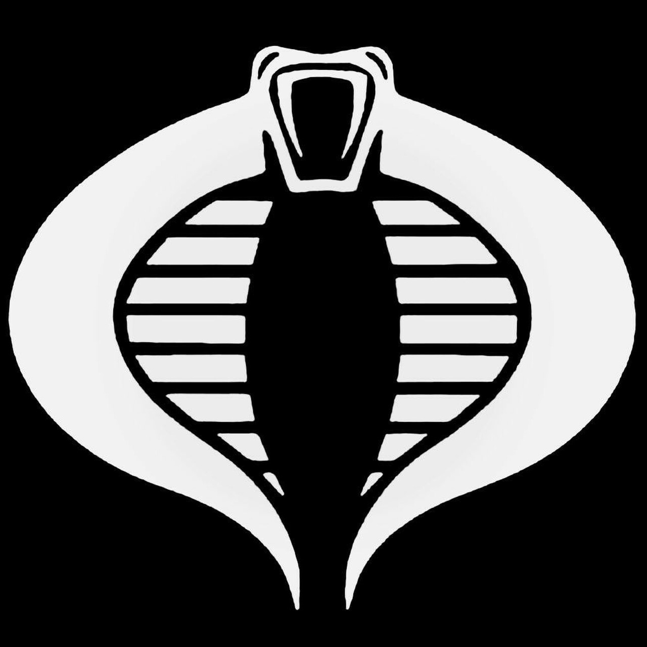g i joe cobra logo decal sticker g i joe cobra logo decal sticker
