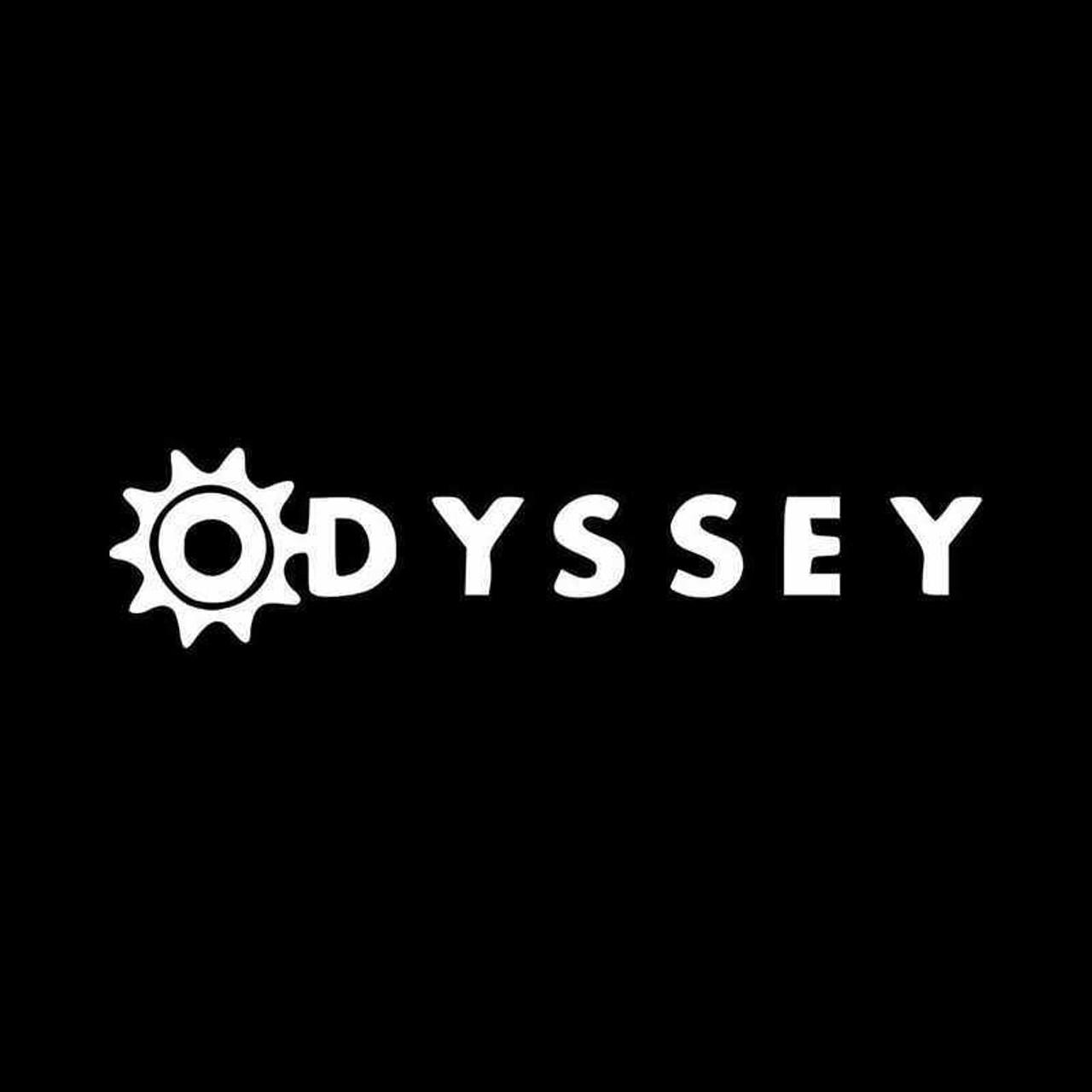 BMX ODYSSEY STICKER DECAL BLACK