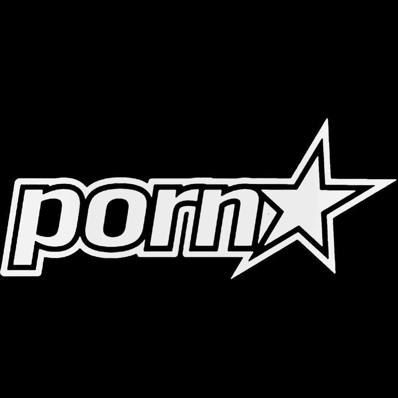 PORN STAR VINYL GRAPHIC DECAL STICKER