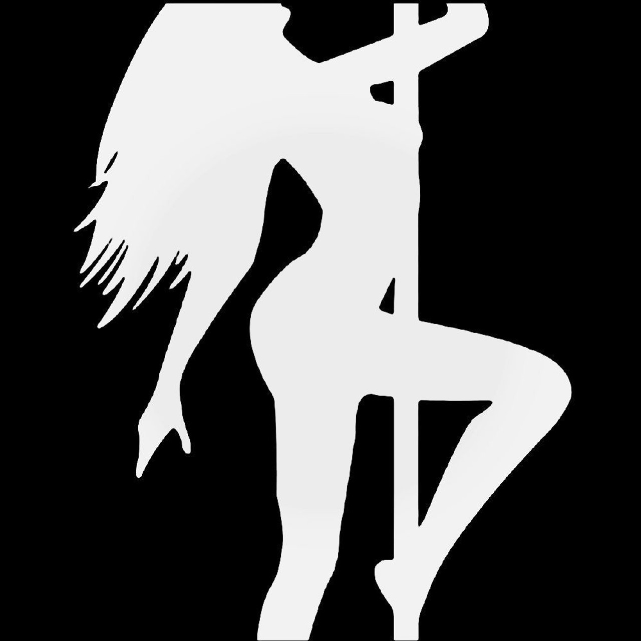 Vinyl Decal T... Pole Dancer Vinyl Decal for Vehicles Transfer Car Decal