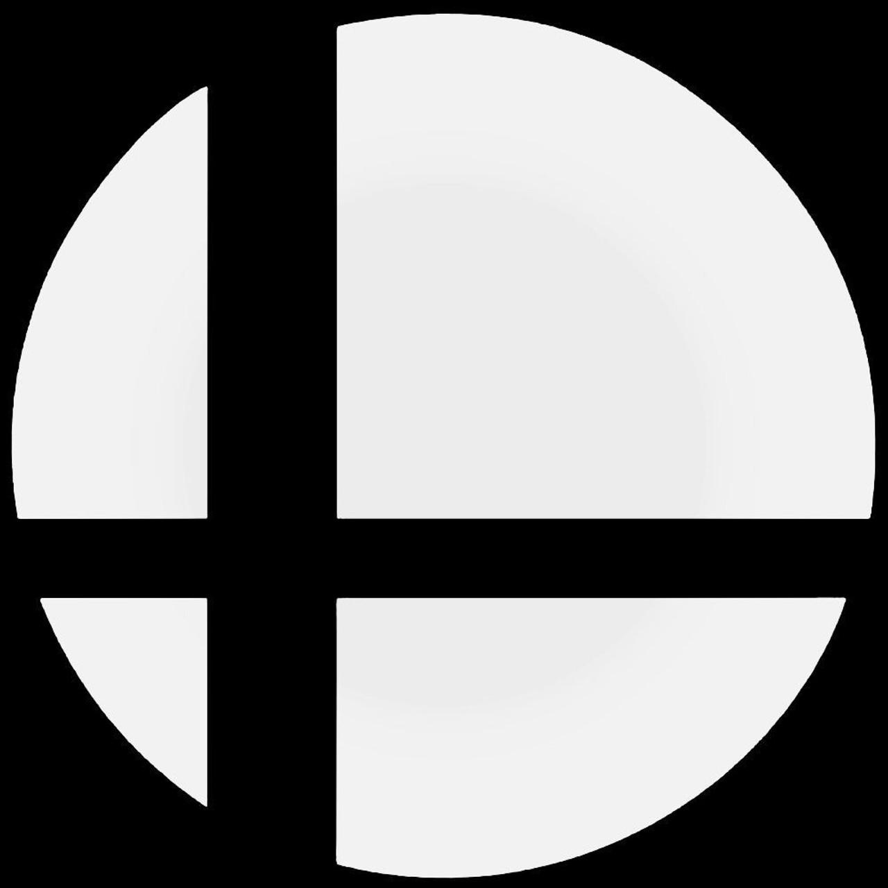 Super Smash Bros Logo Decal Sticker