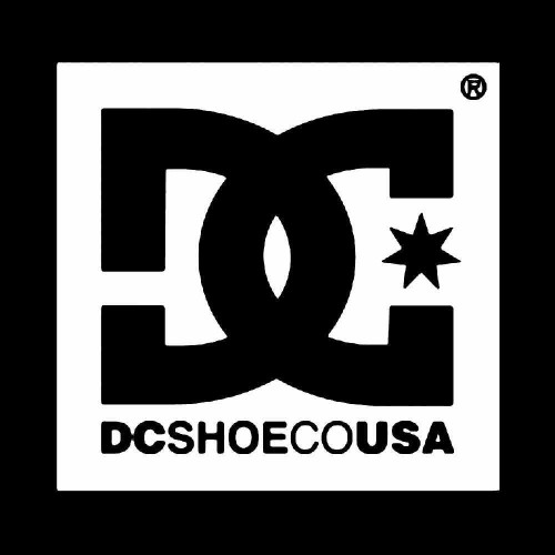 "5 Pack DC Shoe City Logo Permanent Vinyl Decal Sticker 4/"" X 2.8/"""