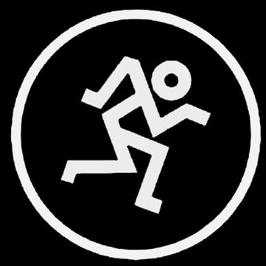 Mackie Running Man Decal Sticker