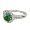 Chelsea sterling silver engagement ring ON CLEARANCE