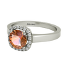 Nadine sterling silver engagement ring ON CLEARANCE