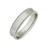 Nelson sterling silver wedding band