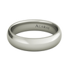 Solis sterling silver wedding band FP