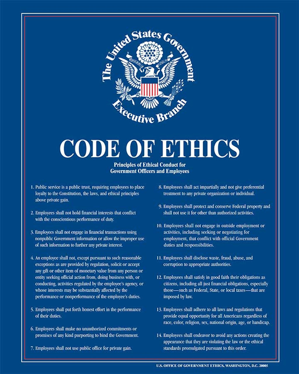 Law Labor Poster  Government Ethics Services | Code for of