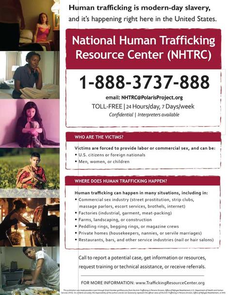 Alabama Human Trafficking Poster English