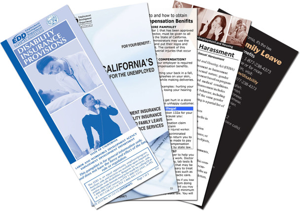 California New Hire Pamphlet Combination Package