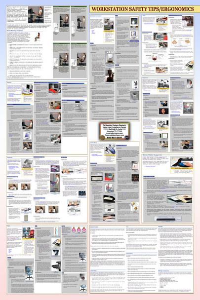 Workplace Ergonomics Poster