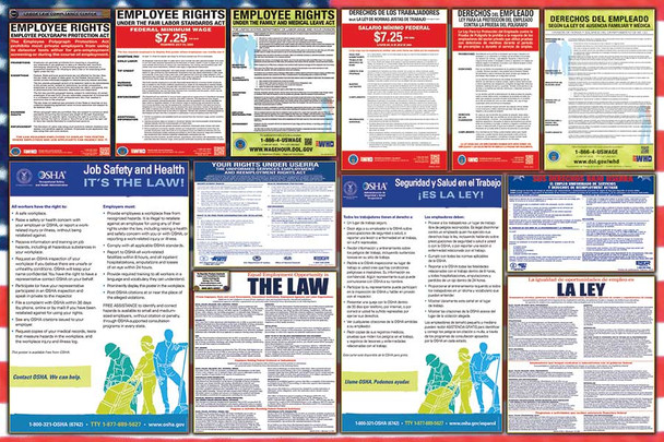 Federal Bilingual Labor Law Posters