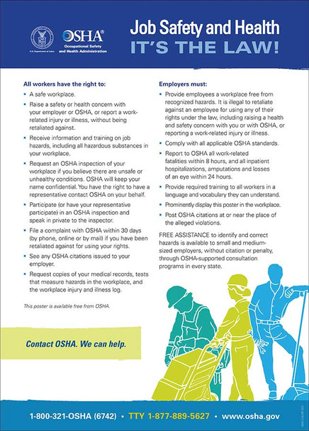 Federal OSHA Poster