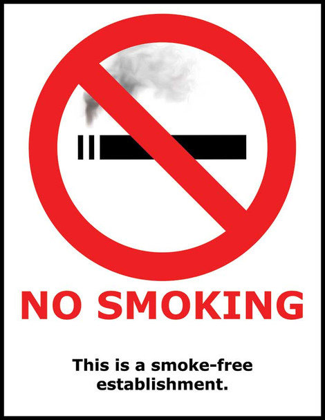 No Smoking Policy Poster
