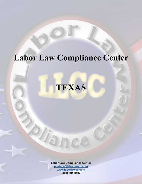 Labor Law Poster Electronic Files