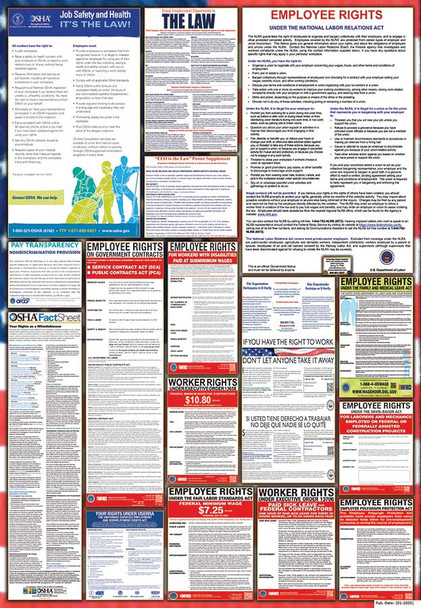 Federal Contractor Complete Poster