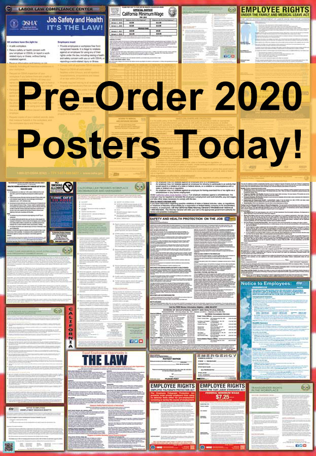 State and Federal Combination Labor Law Posters