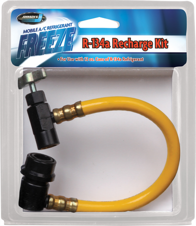8323   R-134A Quick Charge - Brass