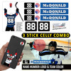 3 Hockey Stick Celly Decal Combo