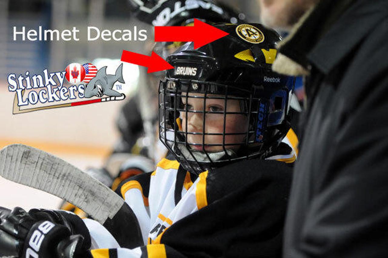 Personalize Hockey Sticker Pack