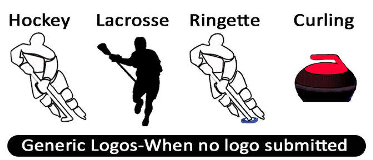 Logo option when no logo submitted.We have an option for all sports.