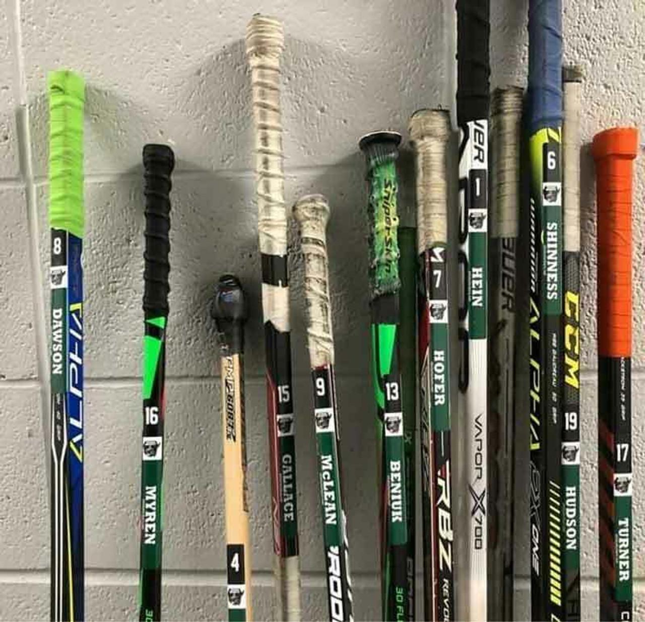 Personalized Hockey Stick Sticker