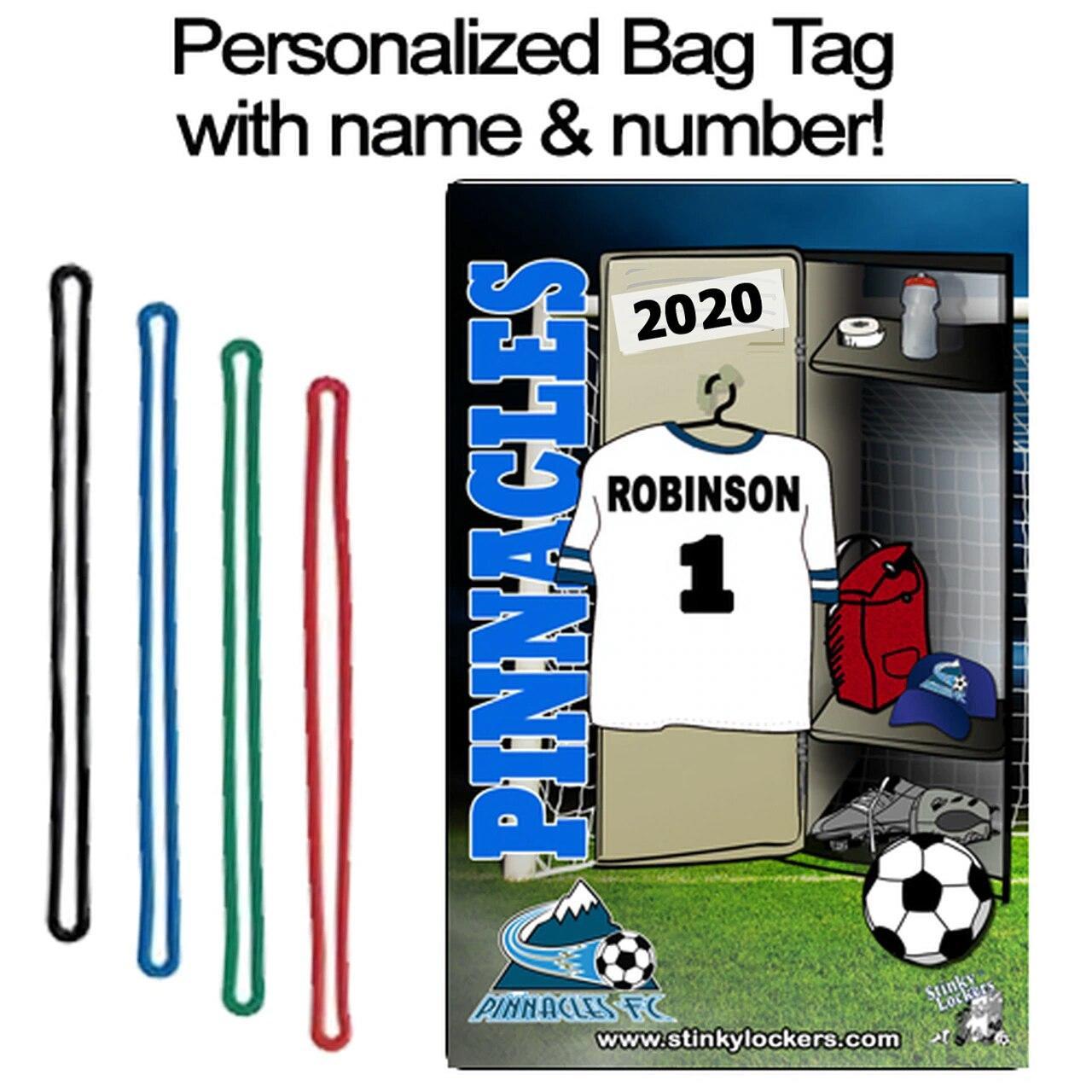 Soccer Bag Tag