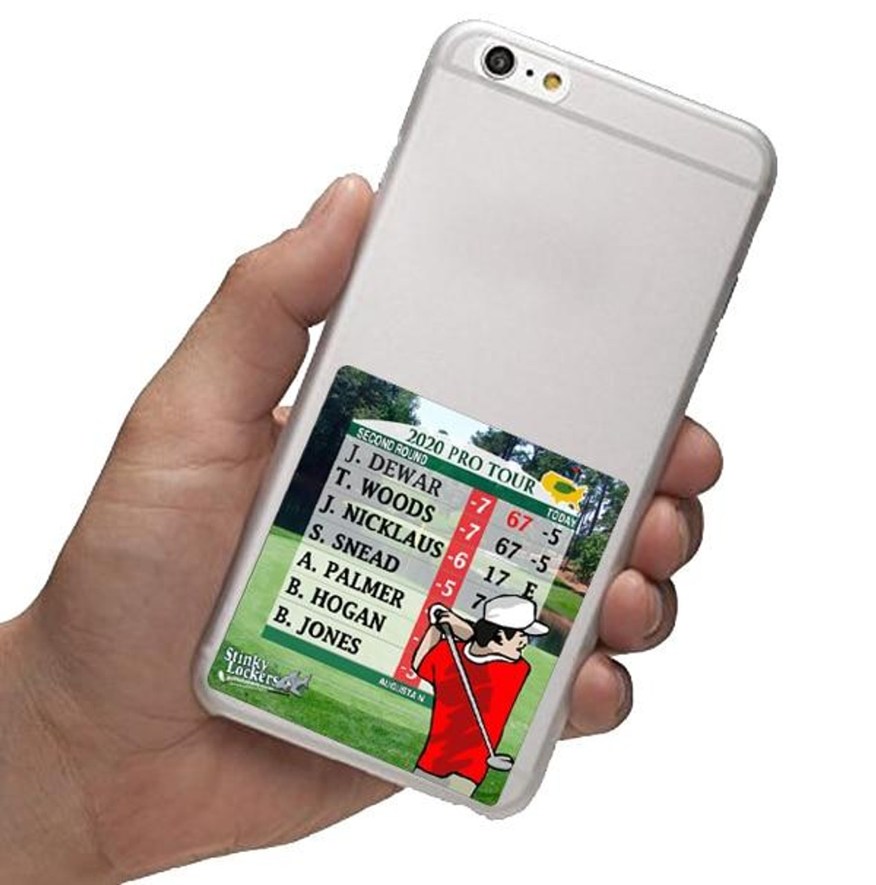 Personalized Golf Laptop Sticker