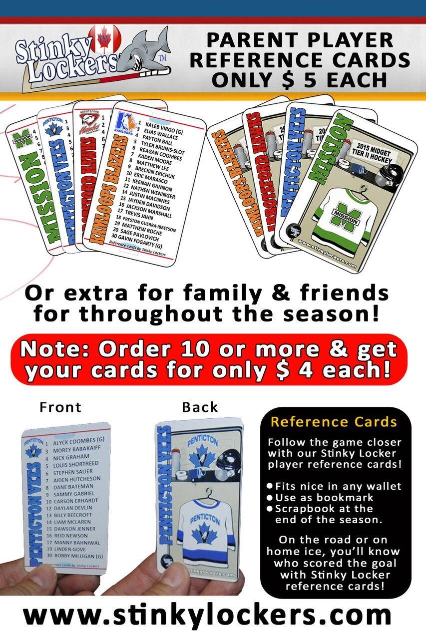 Reference Card-Hockey