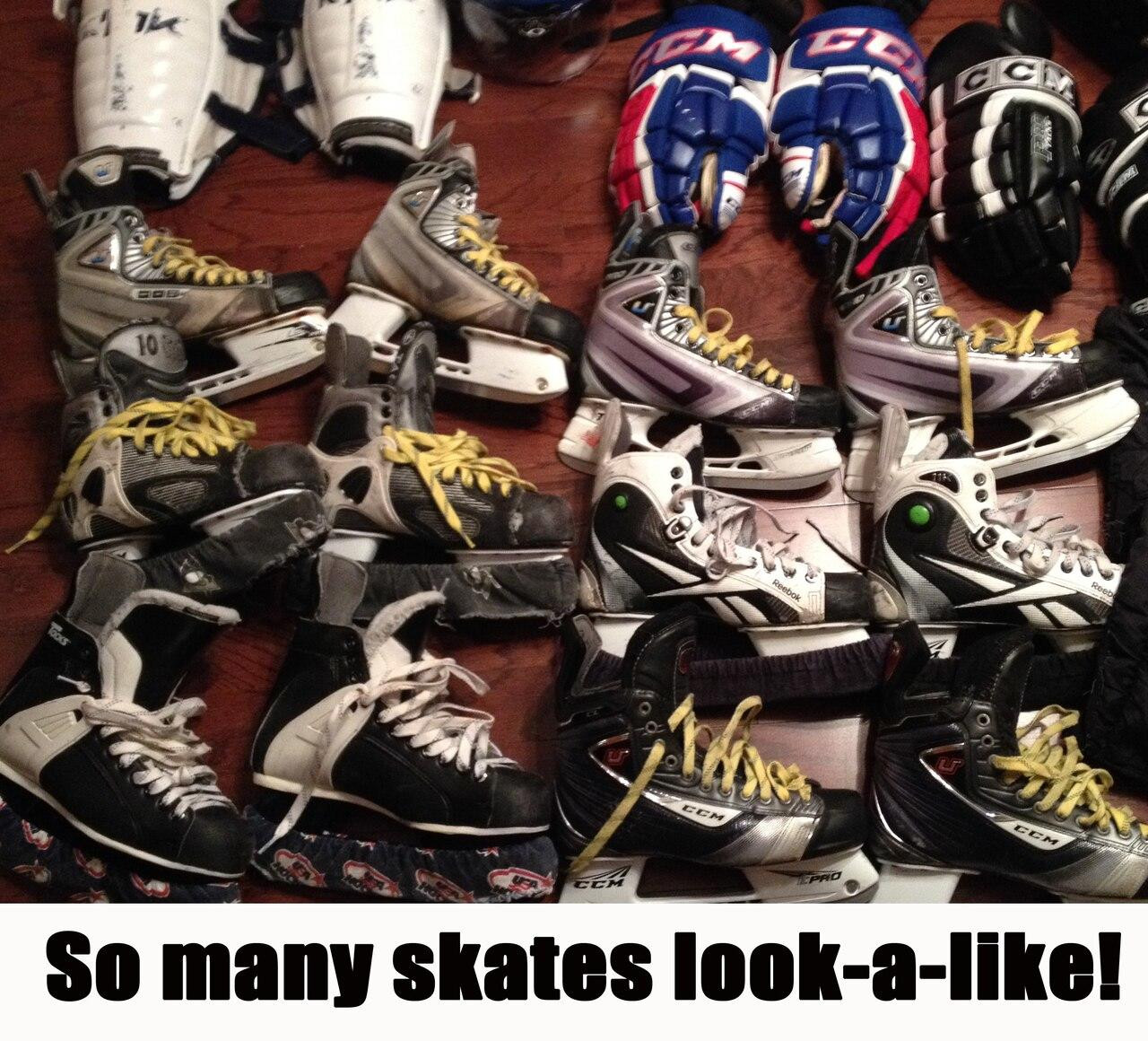 Personalized Skate Stickers-Set of 4