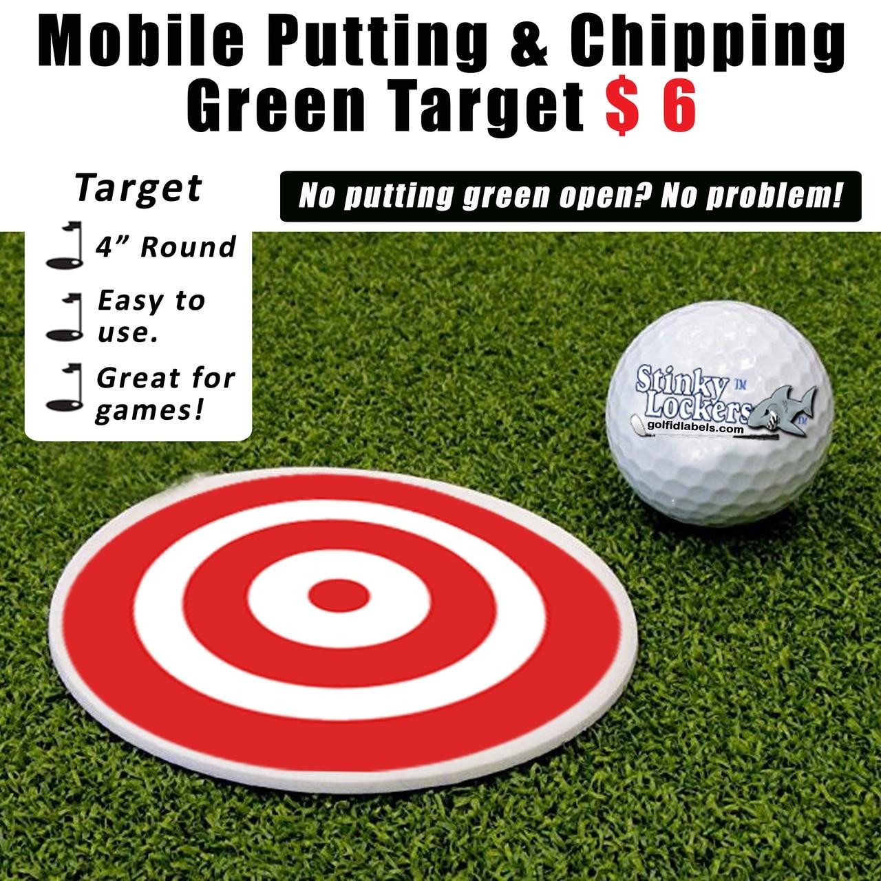 Golf Putting and Chipping Target