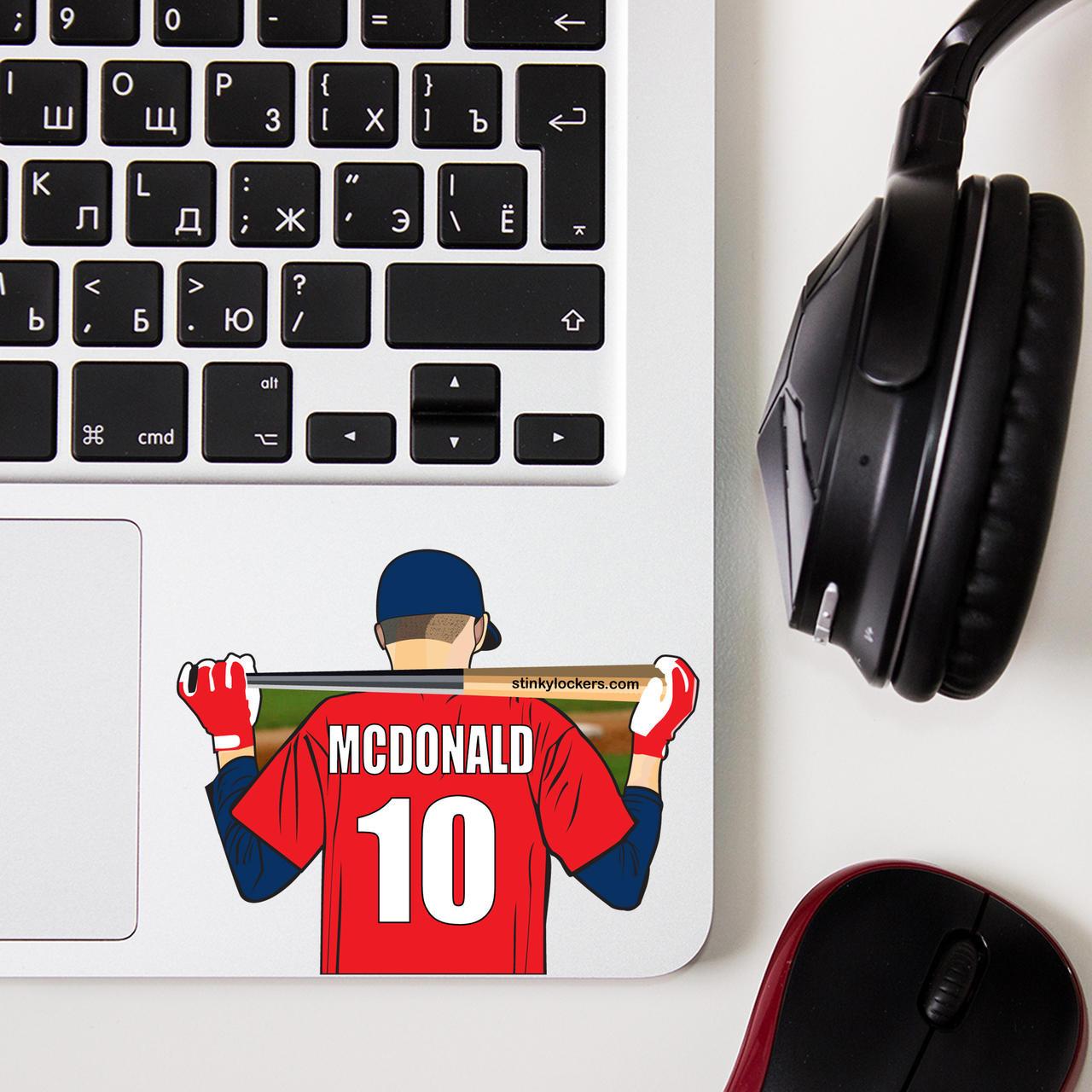 Personalized Youth Baseball Sticker