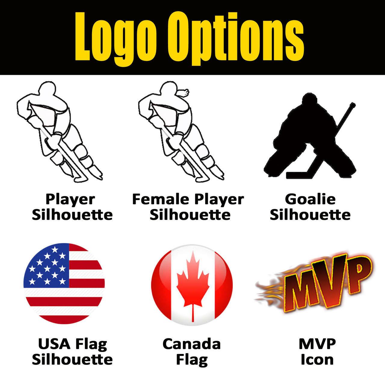 Promo Hockey Stick Sticker