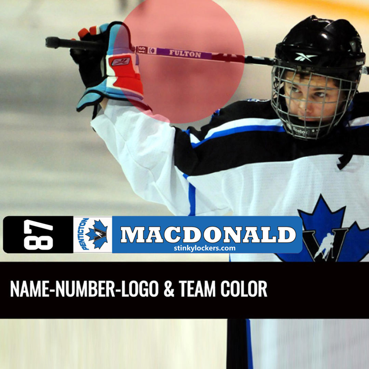 Stick Label - Team Order of 16