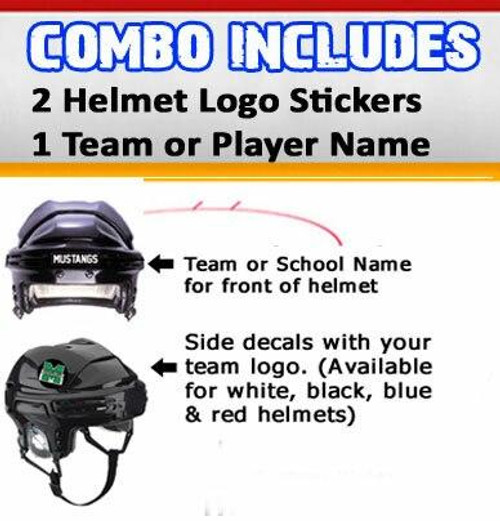 Helmet Sticker Pack-No Number