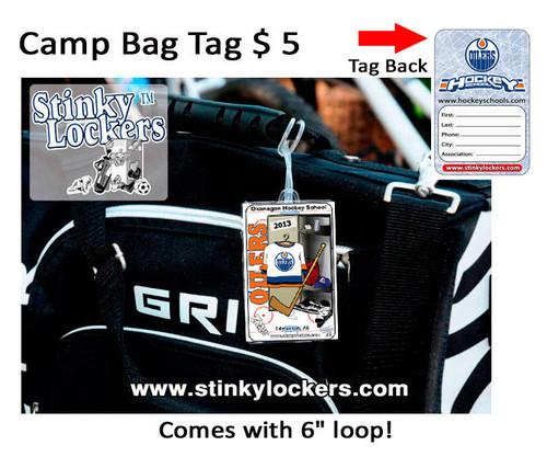 Oilers Camp Bag Tag