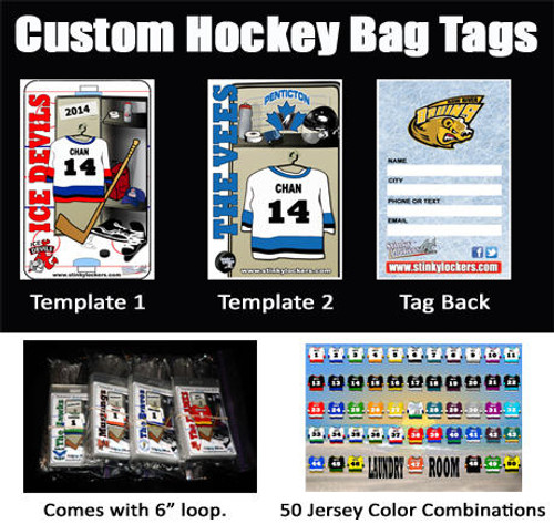 Bag Tag and Stick Label Combo